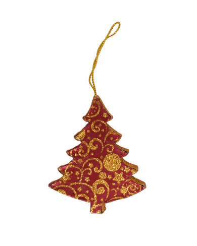 Handmade Recycled Paper Christmas Decoration