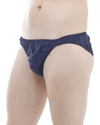 Pack of 4 Satin Silk High Leg Briefs