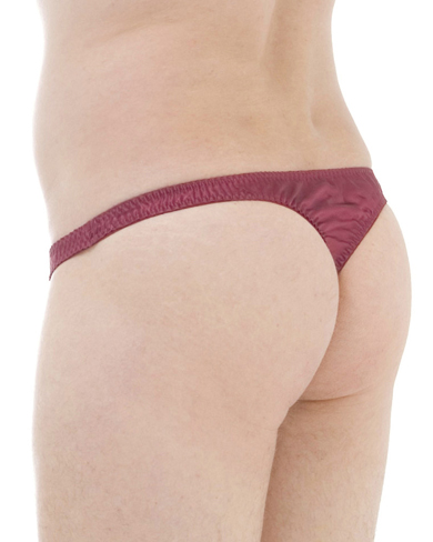 Satin Silk Thong Briefs