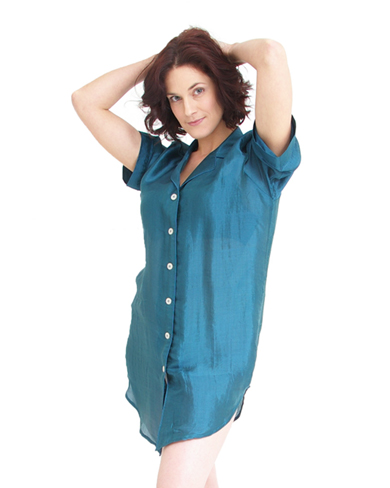 Silk Mix Nightshirt